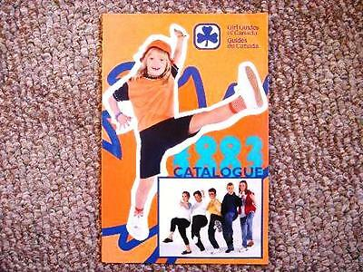 Girl Guide Catalog 2002-03 GGC Catalogue Girl Guides of Canada Girl Scouts Rare