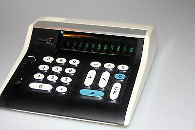Vintage 1973 Panasonic JE-1001 Electronic Calculator with Case Made in Japan