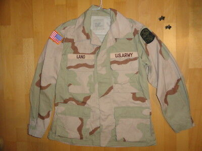 Newlike US ARMY 3-color DESERT STORM 1990 COAT JACKET UNIFORM BDU DCU