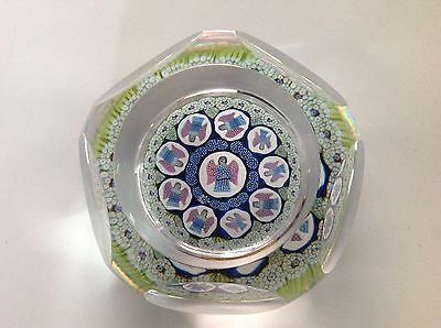 Whitefriars 1975 Host of Angels Glass Paperweight