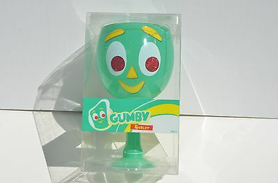 Gumby Glass Goblet 2010 Prema Toy Company New In Sealed Box RARE