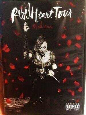 Madonna-Rebel Heart Tour-Dvd New-Live In Austarila 2016-Region All