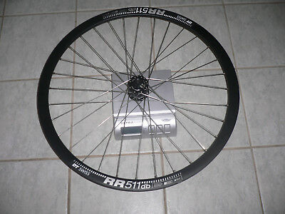 SON SCHMIDT 28 15 THRU AXLE DYNAMO HUB DISC DT SWISS 511db WHEEL - NEW