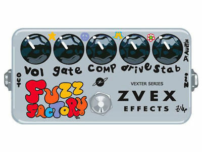 Excellent Zvex Fuzz Factory Electric Guitar Effects Pedal Live Music Muse