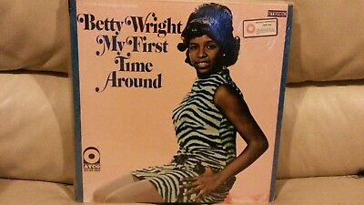 Betty Wright - My First Time Around RARE USA ATCO LP SD 33-260