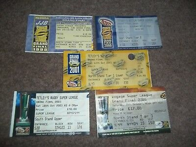 Super League Grand Final Ticket Collection Old Trafford Manchester United X 5