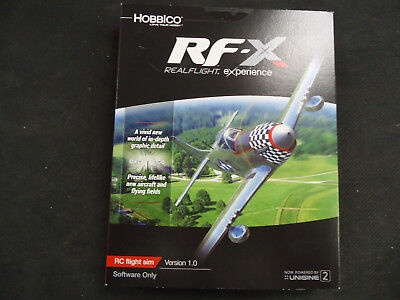 NEW Great Planes RC RealFlight RF-X Software Only GPMZ4548