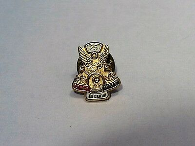 FOE  25 year Club  Pin Fraternal Order of Eagles Gold Lapel Small  Local 244