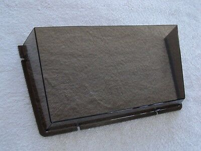 """EXP Unbreakable Wall File Pocket; Smoke; Letter Size; 14 1/2""""W x 6 1/2""""H x 3""""D"""