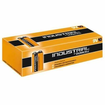 Duracell Industrial 9V 6LR61 PP3 Batteries | 10 Pack