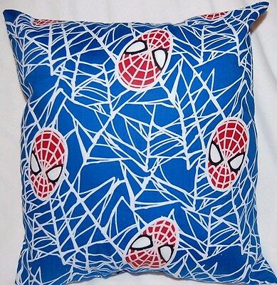 New Handmade The Amazing Spiderman Glow In The Dark Travel Toddler Pillow