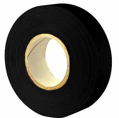 "Mic Mac Hockey Black Cloth Hockey Tape 25 Rolls 1""x 30 Yards NHL ""Free Shipping"""