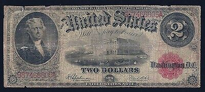 1923 FR-60  21  Legal Tender Speelman White Red Seal - RAW ungraded note