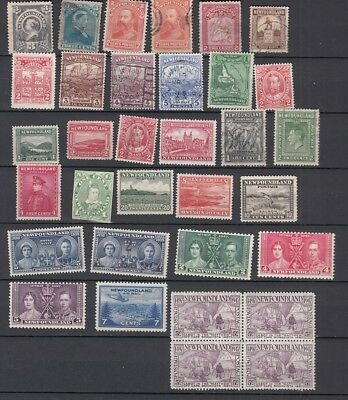 Newfoundland : Mint and Used stamps Collection
