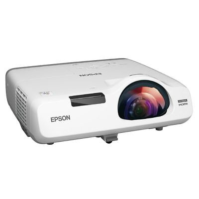 Epson EB-535W, 3400 LUMENS, WXGA, SHORT THROW, 2X VGA, HDMI (V11H671053)