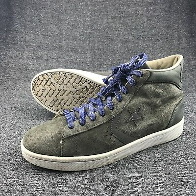 88b851f0c78b MENS CONVERSE GREY Suede High Tops Sneakers Size 9 -  24.99