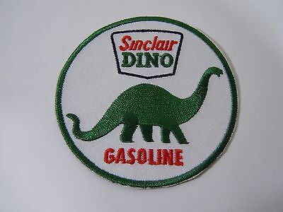 SINCLAIR Dino GASOLINE  Embroidered Iron On Uniform-Jacket Patch 3""