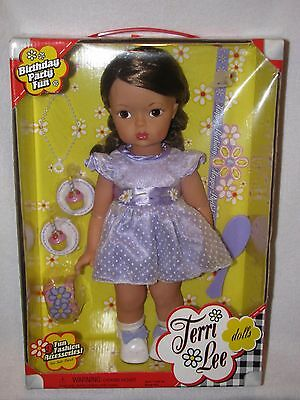 "MIB 16"" Reproduction Terri Lee Doll  ""Birthday Party Fun"" 2004"
