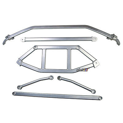 [6 ] Strut Tower Brace Chassis Bar Can Fits 10th GEN Honda Civic FC1 FC2 16++