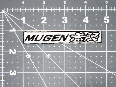 Honda Mugen Motorsports Logo Car Biker Formula Racing Mechanic Patch - Usa