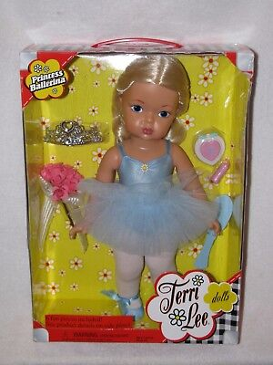 "16"" Reproduction Blonde Hair Terri Lee Doll  ""Princess Ballerina"" 2004 MIB"