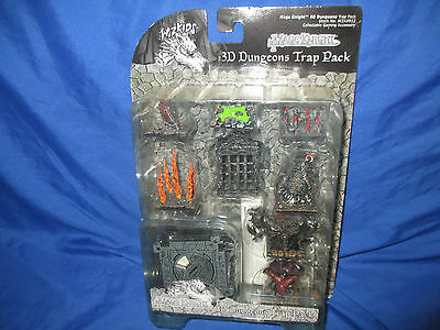 Mage Knight  -  3D Dungeons Trap pack (trap squares/dials/objects)  WZK0912  NEW