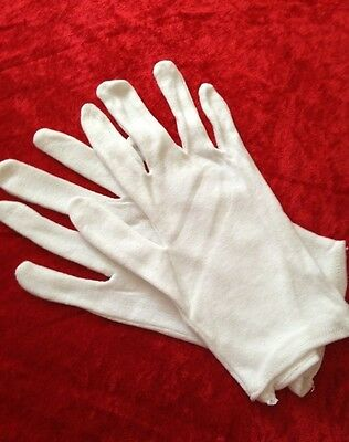 4  pairs L  UNDER BOXING COTTON WHITE INNERS GLOVES SWEAT LINER HAND PROTECTOR
