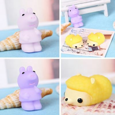 Cute Soft Cartoon Animal Squishy Squeeze Compress Mochi Kids Stress Relieve Toy