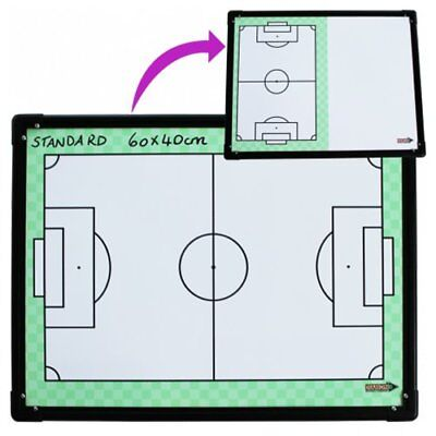 60cm x 40cm Football Tactic Board with Magnets and Texter in Carry Bag