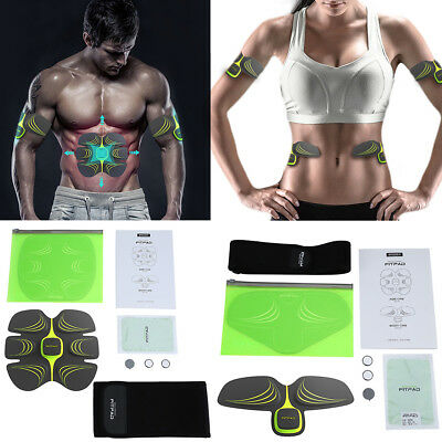 Sixpad ABS/FITPAD Muscle Training Gear Strength Exerciser Gel Sheet Toning Belt