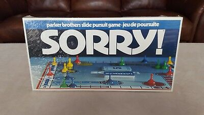 1972 SORRY! Board Game Brand New!