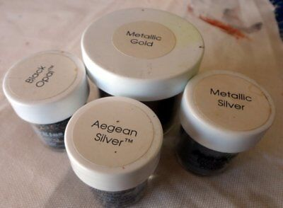 Embossing Powders - 4 Jars