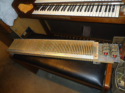 Allen Organ T12A  Relay Key Contact Assembly Board For Lower Keyboard The Great