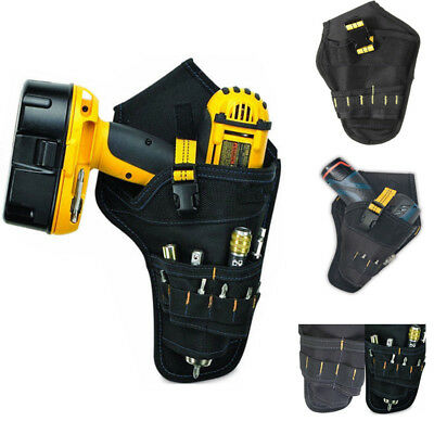 Heavy Duty Custom Cordless Impact Drill Holster Tool Belt Pouch Pocket Holder