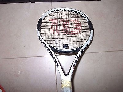 Wilson Hammer 6 H6 Carbon Matrix Tennis Racquet Racket 110 Oversize OS 4 3/8 in.