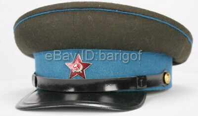New Soviet Union Russian Army RKKA PILOT Air Force Hat Cap WW2 High quality