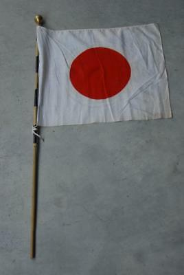 Japanese WW2 Army/Navy Seeing Off Cloth with pole#a6211