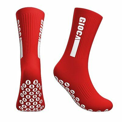 GIOCA Grip Socks - Large - Red - Worn by Professionals