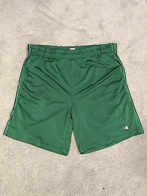 VTG 90's Champion Reverse Green Drawstring Shorts Size XL