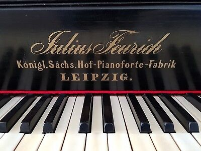Julius Feurich Leipzig Upright Piano
