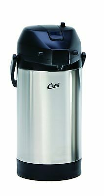 Wilbur Curtis Thermal Dispenser Air Pot, 2.5L S.S. Body S.S. Liner Lever Pump -