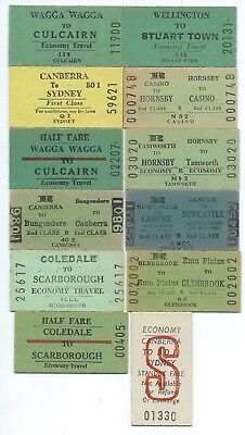 12 Different NSW Country Tickets