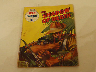 WAR PICTURE LIBRARY NO 101!,dated 1961!,GOOD for age,great 56!YEAR OLD issue.