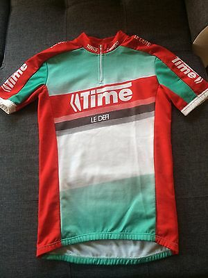 Maillot Cycliste TIME