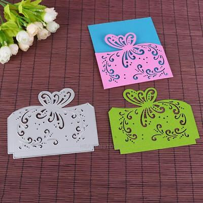 Butterfly Cutting Dies Stencils Scrapbook Embossing DIY Craft Album Card Decor