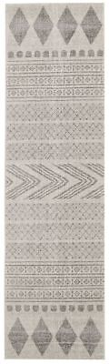Hallway Runner Rug Hall Runner Floor Carpet Mat Grey Modern 4 Meters Long