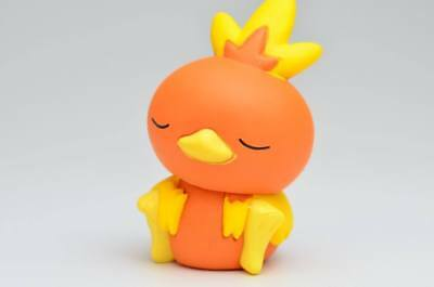 Pokemon Desktop PVC Good Night Friends Figure Sleeping Series ~ Torchic @82220