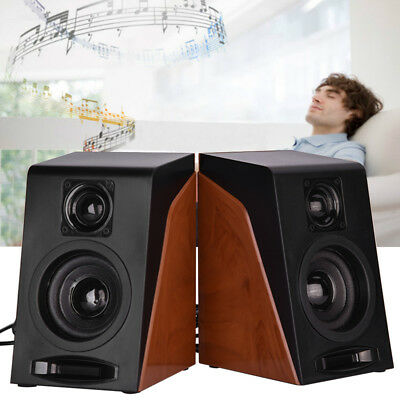 2x USB Multimedia Sound Stereo Speakers System for PC Computer Desktop Laptop BT