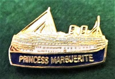 Canadian Pacific Steamships S.S.PRINCESS MARGUERITE 2 lapel pin