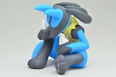 Pokemon Desktop PVC Good Night Friends Figure Sleeping Series ~ Lucario @82220